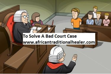 Solve Court Case Spells.