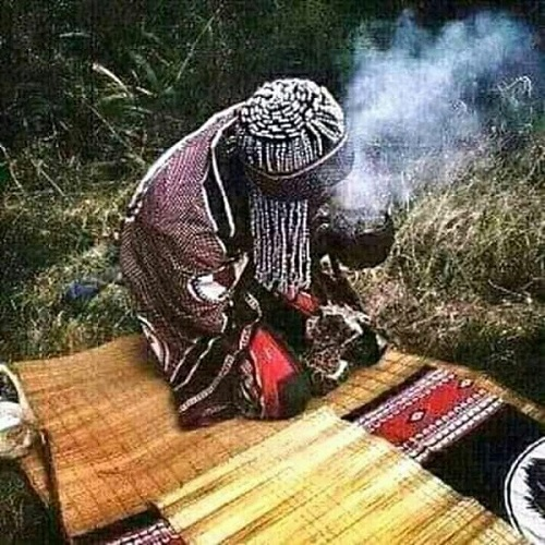 The professional traditional healer Mama Mariam